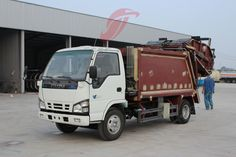 High performance 4x2 small rear loader garbage compactor body new refuse compactor trucks