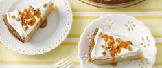 Peel open a new version of homemade banana pie.  Warm caramel topping adds a special touch.