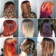 Hair colour  By Phoenix  Colour melt Balayage  Vivids Foils