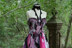 Magical Corseted Fantasy Fairy Vampire by DreamBohemian on Etsy