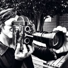 Tim and the retro Fading West Camera!