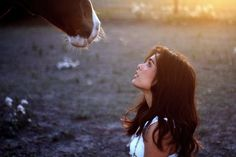 A woman and her horse = ♥  www.thewarmbloodhorse.com