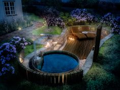 Tub, Outdoor Decor, Garden Ideas, Instagram, Home Decor, Gardening, Design, Patio, Stone