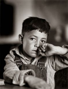 vintage everyday: Vintage Portraits of Child Labor in the United States in the Early 20th Century-In 1941, this young American of Spanish heritage, will leave school after his last exam, so he can go to work.