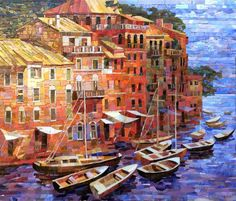 Мозаичная картина Береговой этюд