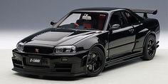 AUTOart | 1/18 | Nissan R34 GT-R-Z-Tune - Black
