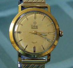 Vintage Zodiac Hermetic Custom Manual Wind Watch, Swiss Made.