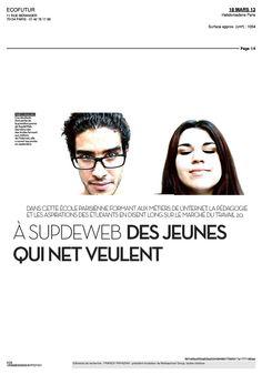 #SUPDEWEB dans Libération 1/4