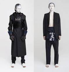 Inspired by traditional Japanese menswear.  Spring 2011 Abstinence | Lookbook: #SheenJehee