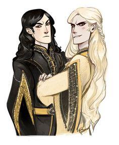 Curufin and Celegorm
