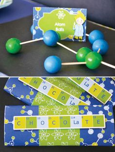 science decorations | Creative Kids Mad Scientist Party Ideas // Hostess with the Mostess®