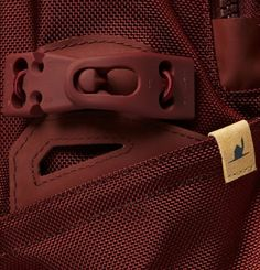 Ballistic Backpack In Red
