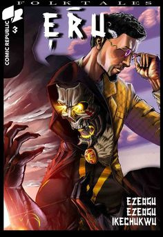 Eru: Eric Kukoyi is not a normal man. He doesn't age or sleep. He lectures at the University of Lagos,… Comic Book Companies, Superhero Series, Normal Guys, Indie, Sci Fi, Comic Books, African, Adventure, Comics