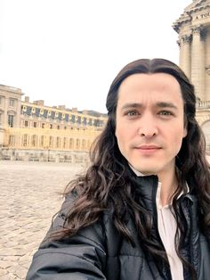 The brilliant Alexander Vlahos as Monsieur Philippe Duc D'Orleans on the set of season 3 of the canal+ series Versailles