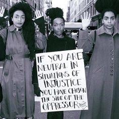 Take a stand.