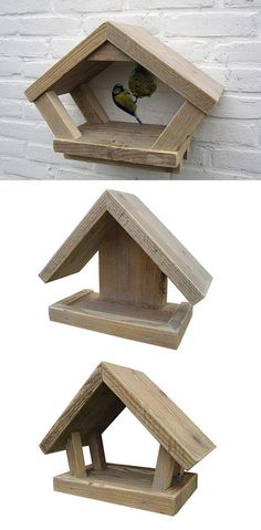 Feed houses 'Feed Me' - Wood - Sale