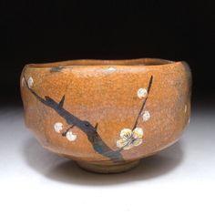 Aka Raku tea bowl by famous Waraku Kawasaki (item detailed views) Japanese Ceramics, Japanese Pottery, Matcha, Ceramic Cups, Porcelain Ceramic, Japanese Tea Ceremony, Ceramic Techniques, Wheel Thrown Pottery, Chawan