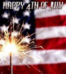 Happy Fourth of July!  Happy Birthday, America!