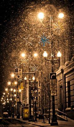 Christmas in Winnipeg, Ontario, Canada