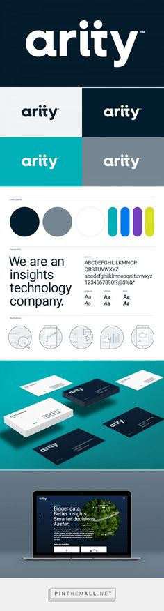 Brand New: New Logo and Identity for Arity by VSA Partners... - a grouped images picture - Pin Them All