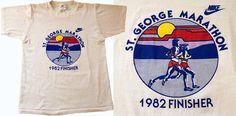 vintage nike st george marathon t-shirt