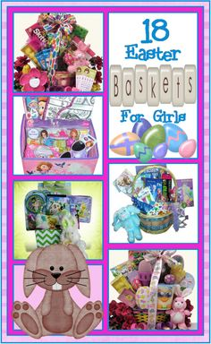 18 Easter Basket Ideas for Girls