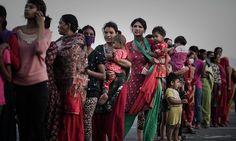 Sex trade human traffickers swarm to quake-hit Nepal to target women