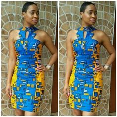 Due to popular demand, we bring you another gorgeously sown Ankara styles for our Valentine's day special edition. Your wardrobe will not be complete without an Ankara fabric or outfit. African Inspired Fashion, African Print Fashion, African Fashion Dresses, African Dress, Fashion Outfits, African Outfits, African Clothes, Ankara Fashion, Ankara Dress