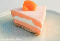 Creamsicle Ice Cream Pie Recipe ~ All the goodness of a creamsicle popsicle in a graham cracker crust