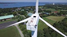 The Most Powerful Wind Turbine in The World - Enercon E126 - YouTube