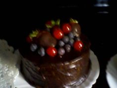 One of my delicios chocolate cakes!