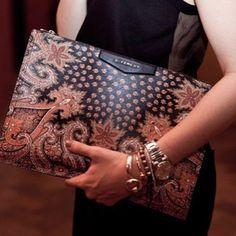 to accompany a little black dress | givenchy | purses