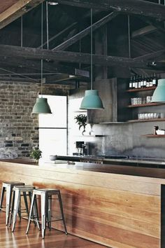 Creative Industrial Kitchen Decor Ideas That You Can Create For Your Urban Getaway Industrial Kitchen Design No. 9987 #homeindustrialdecor #industrialapartments #industrialdecor #industrial_furniture