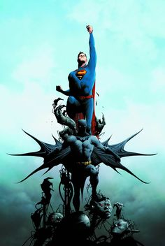 Batman/Superman #1 #DC Regular Cover (Virgin Cover) #BatmanSuperman #New52 (Cover Artist: Jae Lee) On Sale: 6/26/2013