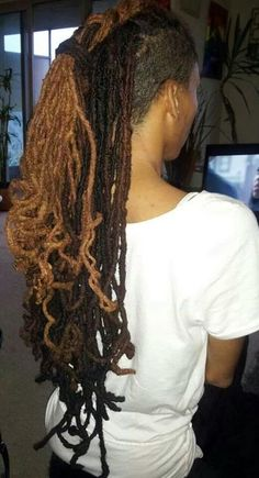 Locs. I need that color