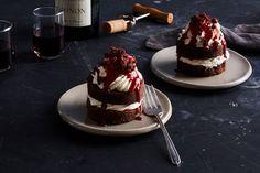 Mini Brownie Layer Cakes recipe on Food52