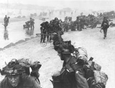 Neptune Operation during Normandy landing in Sword Beach. D-Day, June 6, 1944. © Docpix