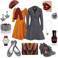 Would feel a little like Mary Poppins in that coat & those shoes, but definitely would turn a head or two. :)