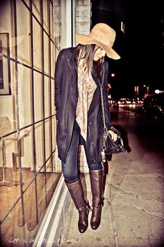 Loving layers and boots