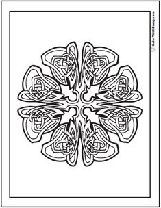 celtic coloring pages at colorwithfuzzycom flaming cross advanced celtic coloring pages - Celtic Coloring Pages