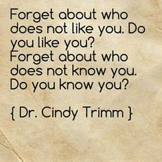 """People don't know who we are because we don't know who we are. ("""" Before I formed you in the womb i knew you, before you were born i set you apart; I appointed you as a prophet to the nations."""")  I was watching on youtube the other day Dr. Cindy Trimm """"Do you know you? Restore your Authenticity- Get your personal power back. God has already appointed you as a prophet, apostle a billionaire a lawyer before you were born."""