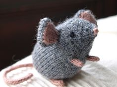 """Mousie"" by Ysolda Teague. Pattern available through Ravelry and Ysolda's website"