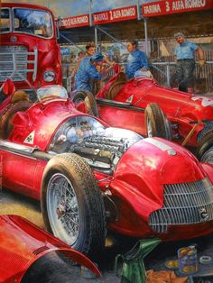 CAMINANDO LA PAMPA: Planeta Fangio, Balcarce, Buenos Aires, Argentina Formula 1, Car Themes, Garage Art, Car Illustration, Car Posters, Car Drawings, Automotive Art, Love Car, Car Painting