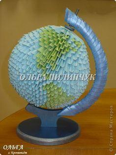 Chinese Modular Origami GLOBE MK Photo Paper ...