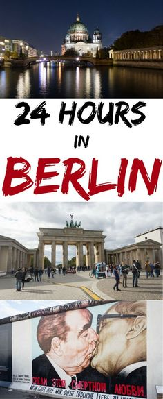 24 hours isn't nearly enough time for Berlin, but if you only have 1-day follow this itinerary to get the most out of your time in this spectacular city! by Wandering Wheatleys (@wanderingwheatleys) #Berlin #Germany #CityGuide #Europe