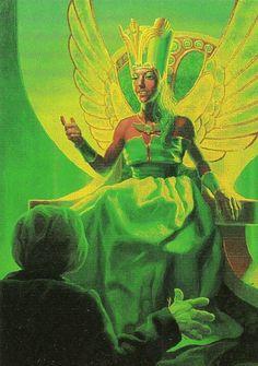 Wizard of Oz by Greg Hildebrandt