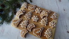 Gingerbread Cookies, Christmas Cookies, Christmas Ornaments, Cookie Decorating, Paleo, Food And Drink, Fitt, Holiday Decor, Blog