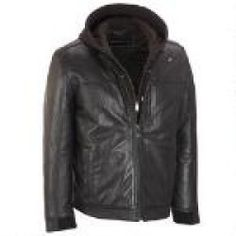 Daily Recommend - Marc New York Leather Moto Jacket w/ Full Placket
