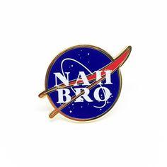 """Nah Bro"" Hard Enamel Pin / Super Villain"