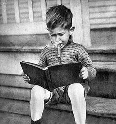 Smoking & reading like a kid